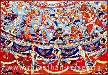 Religious Painting-Ramgarh,  Rajasthan