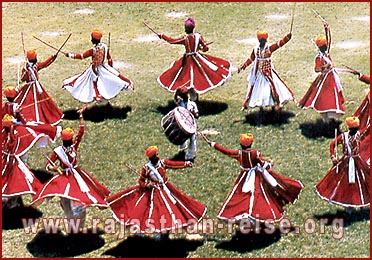 Gair Dance in Rajasthan
