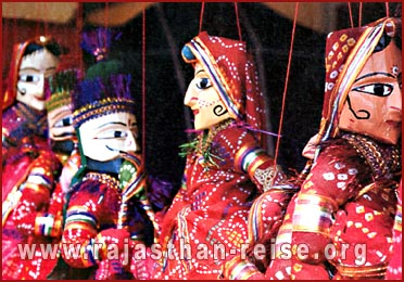 The Puppets in Rajasthan