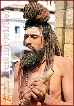 Sadhu on high