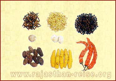 Spices of Rajasthan