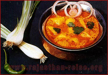 Spicy Curry of Rajasthan