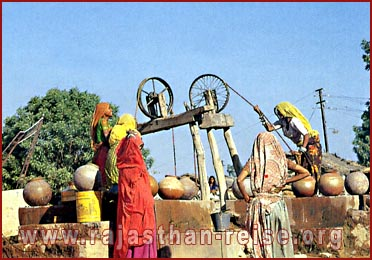 Village Well in Rajasthan