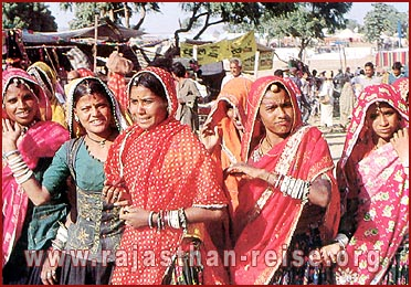 Women during festival in Rajasthan